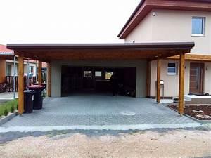 Carport Vor Garage : carport terrassendach berdachung garage nebenraum ~ Lizthompson.info Haus und Dekorationen
