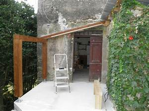 Mur Interieur En Bois De Coffrage : nouvel abris bois partie gauche charpente cayzacoistory ~ Premium-room.com Idées de Décoration