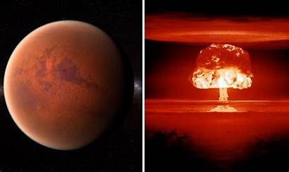 Mars War Nuclear Destroyed Bible Battle Interplanetary