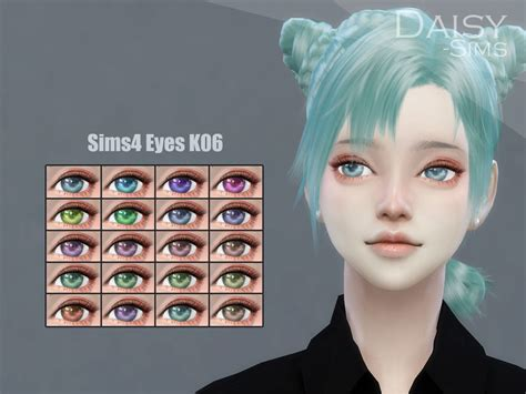 The Sims Resource Anime Eyes K06 By Daisysims Sims 4