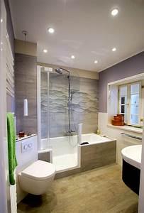 Kann Man Bei Gewitter Duschen : badewanne mit dusche die l sung f r kleine b der ~ Frokenaadalensverden.com Haus und Dekorationen