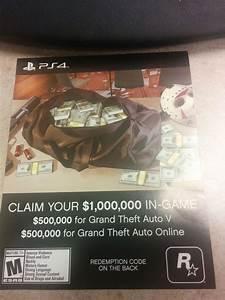 H: Grand Theft Auto V GTA 5 $1,000,000 $1 Million Dollar ...