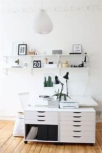 Büro Zuhause Einrichten : home office im januar mein zuhause wohnen einrichten diy pinterest arbeitszimmer ~ Frokenaadalensverden.com Haus und Dekorationen