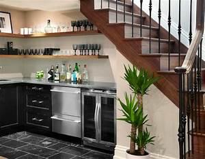 quel meuble sous escalier choisir archzinefr With meuble pour petite cuisine 9 les meubles sous pente solutions creatives archzine fr