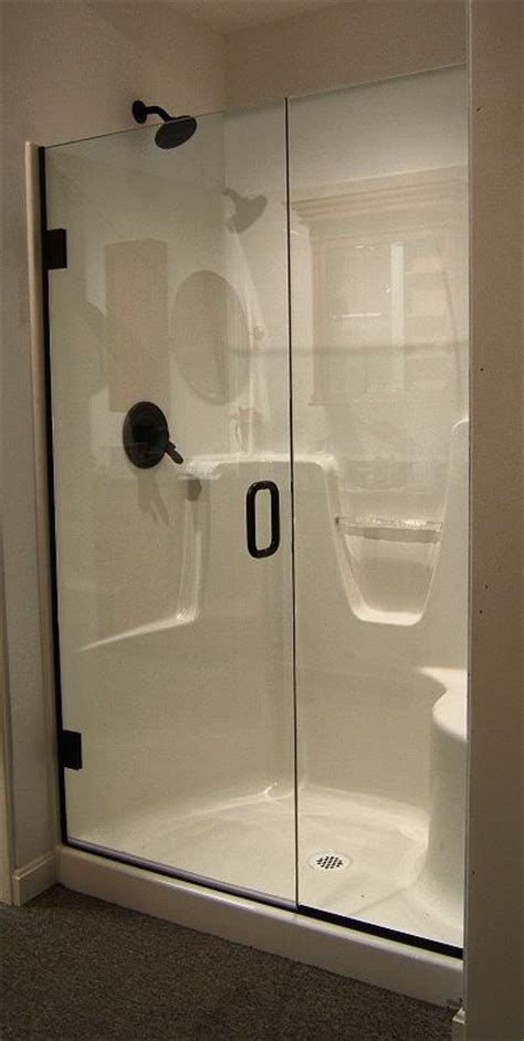 fiberglass shower fiberglass shower doors shower with a semi frameless
