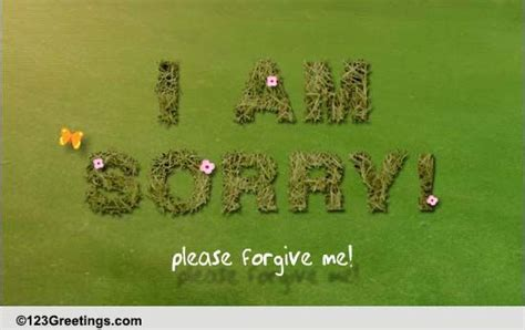 forgive    ecards greeting
