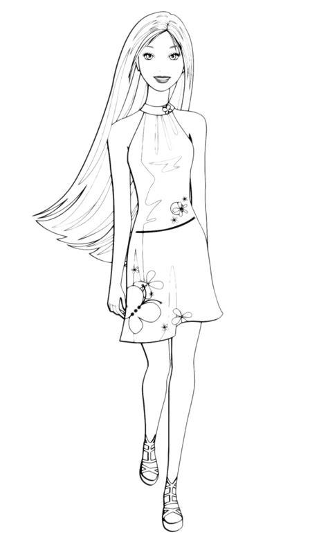 barbie barbie  abito corto
