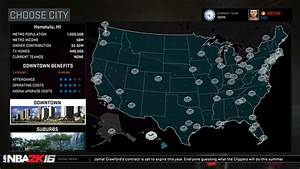 NBA 2K16 Will Allow You To Move A Team To Seattle Or