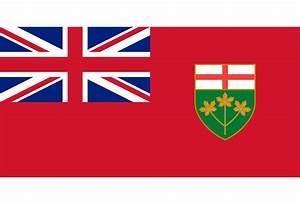 Ontario Canda Flag halfwheel
