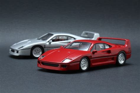 Diecast model ferrari f40 sports car race and play 1:24 scale. Diecast Hobbist: Ferrari F40 (Repainted)