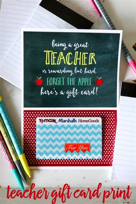teacher appreciation gift card holder lil luna