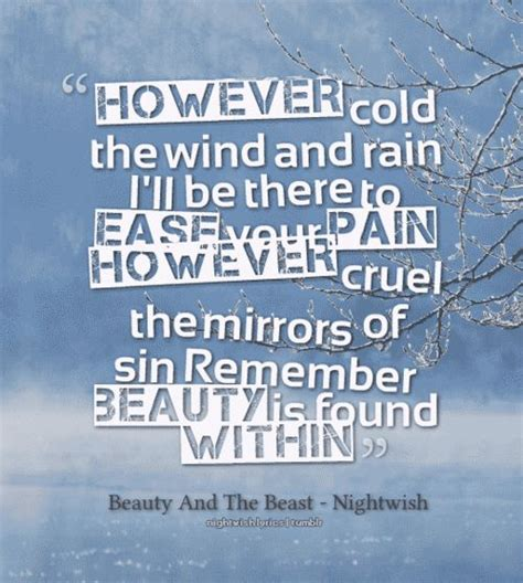 nightwish beauty   beast  pinterest