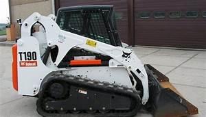 Bobcat T190 Track Loader Service Repair Workshop Manual 531611001