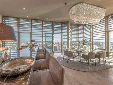 berlin riverside penthouse apartment  panoramic views