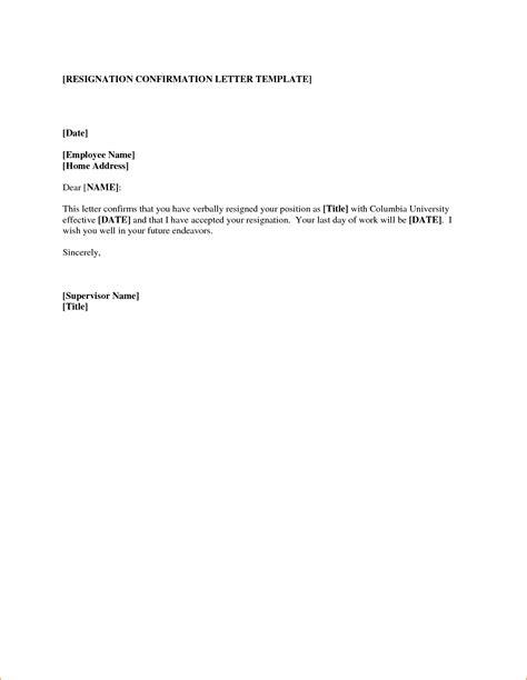 letter of resignation templates letter of resignation templates questionnaire template