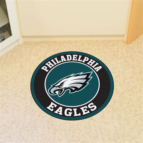 philadelphia eagles rug philadelphia eagles logo roundel mat 27 quot area rug
