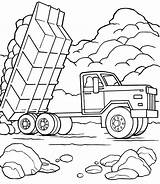 Dump Truck Coloring Construction Pages Vehicles Printable Activityshelter Trucks Sheets Via Coloringme Getcoloringpages Familyfriendlywork sketch template