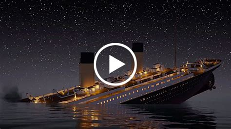 The Titanic Sinking Date by The Titanic Sinking In Real Time On Devour Com