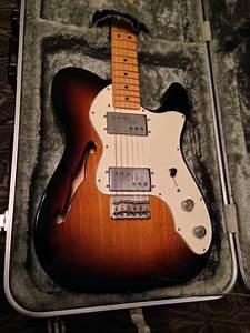 Fender Fsr 72 Thinline Telecaster 2011 Sunburst