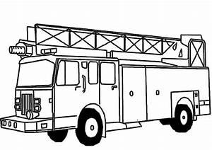 Ausmalbilder, Feuerwehr