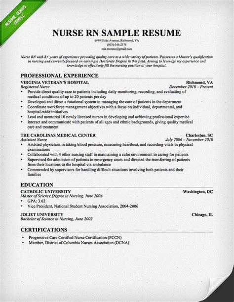 15299 rn resume exles nursing rn resume professional books