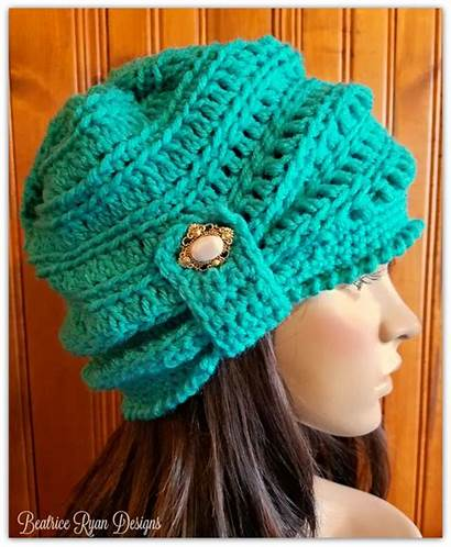 Crochet Pattern Beanie Wintertide Beatriceryandesigns