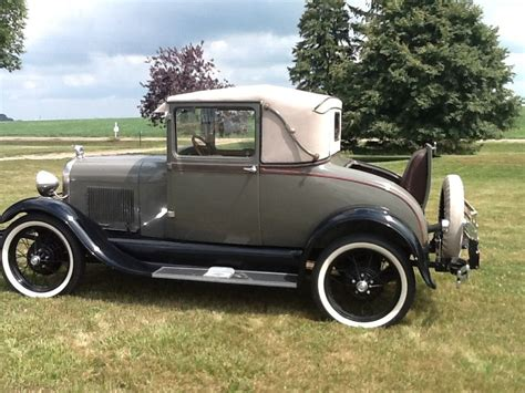 1928 Ford Model A by 1928 Ford Model A Sport Coupe With Rumble Seat