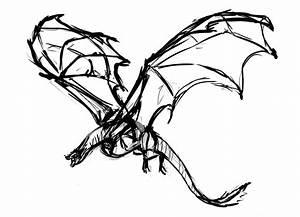 Simple Raven Drawing At Getdrawings
