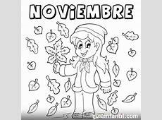 Dibujos de Noviembre para descargar gratis, imprimir y
