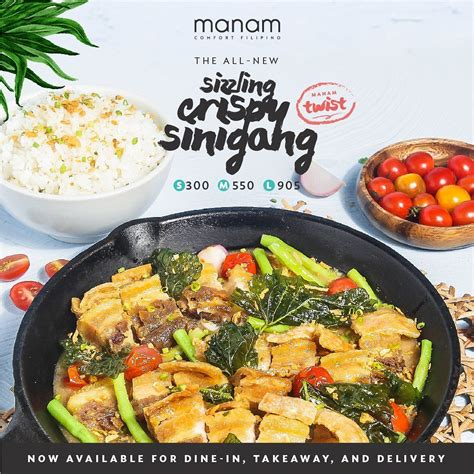Manam gives classic sisig and sinigang a crispy twist in ...