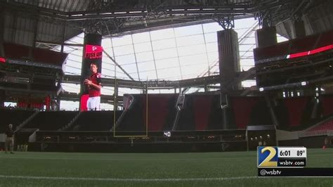 Mercedes Benz Stadium Opens For Season Ticket Holders