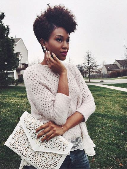 fabulous natural short hairstyles  black women