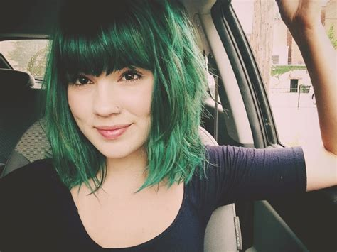 Hair Colors For With Green by Hair Tagged As Manic Panic Enchanted Forest
