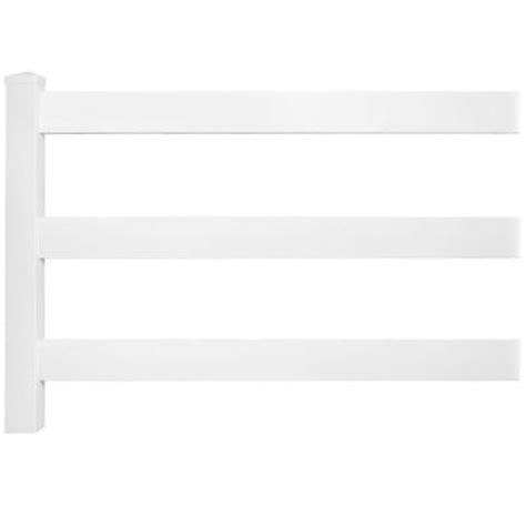 weatherables  ft    ft   rail vinyl fence panel ez