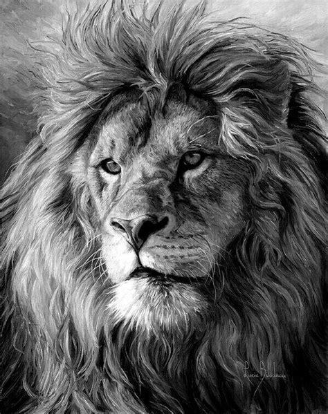 King of jungle | Lion tattoo, Lion painting, Lion head tattoos