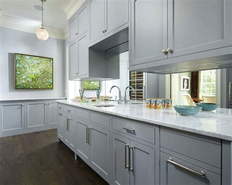 Grey Color Kitchen Cabinets by The Psychology Of Why Gray Kitchen Cabinets Are So Popular