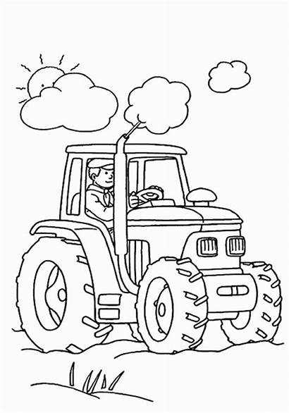 Coloring Pages Tractor Printable