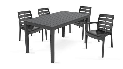 chaise et table de jardin table et chaise de jardin pas cher en plastique luxe salon