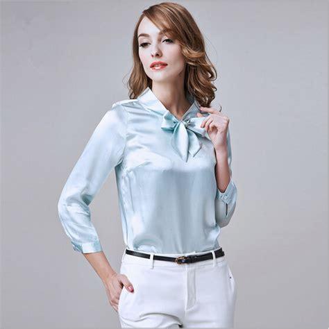 cheap blouses get cheap silk blouses for work aliexpress com