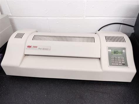 gbc  pro series laminator