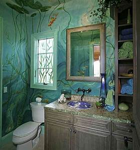 Wall painting ideas bathroom : Bathroom painting ideas