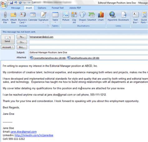 easy steps  emailing  resume  cover letter