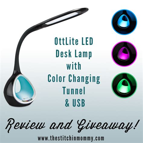 Ottlite Desk L Led by Ottlite 174 Led Desk L With Color Changing Tunnel Review