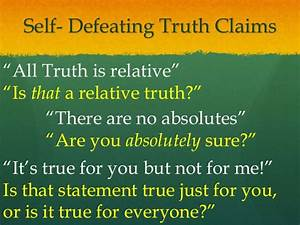 Relativism Truth And Reality  U00ab Kaiserscience