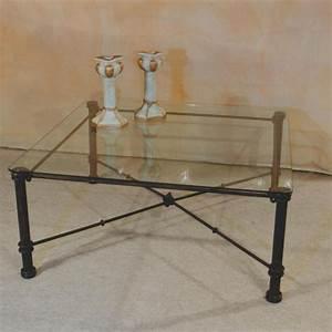 Table Basse Fer Forgé : table verre fer forge ~ Teatrodelosmanantiales.com Idées de Décoration