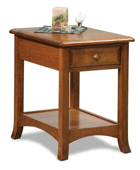 Lighted End Tables Living Room Furniture by Carlisle Open End Table Amish Direct Furniture