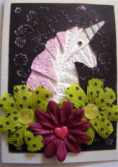 unicorn iris folding pattern cup craftsuprint