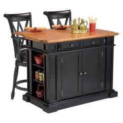 hayneedle kitchen island home styles kitchen island 3 set black