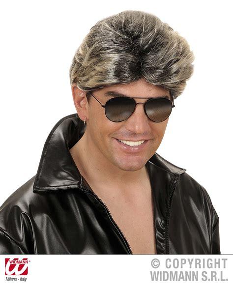wham wig george michael wig 1980s pop star wham mullet fancy dress