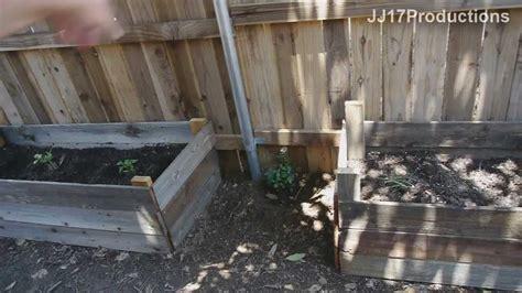 diy home improvement   build cheap raised garden